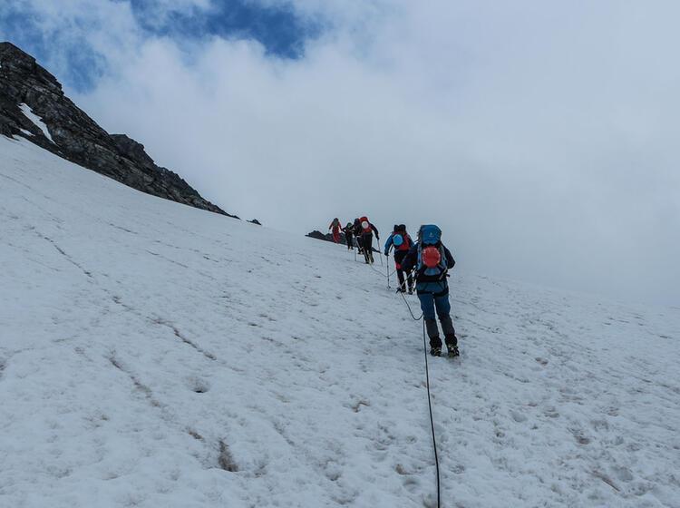 Hochtouren Gipfel Piz Buin In Der Silvretta Mit Bergfuehrer