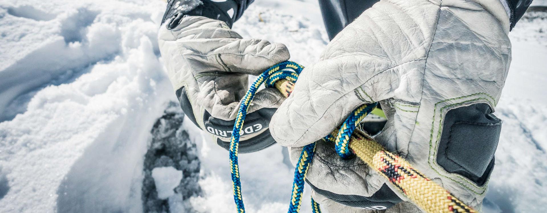 Hochtouren und Gletscherkurse fuer Einsteiger