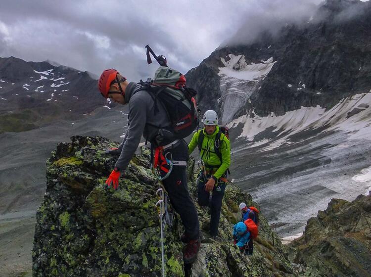 Hochtouren Und Klettersteig In Der Silvretta