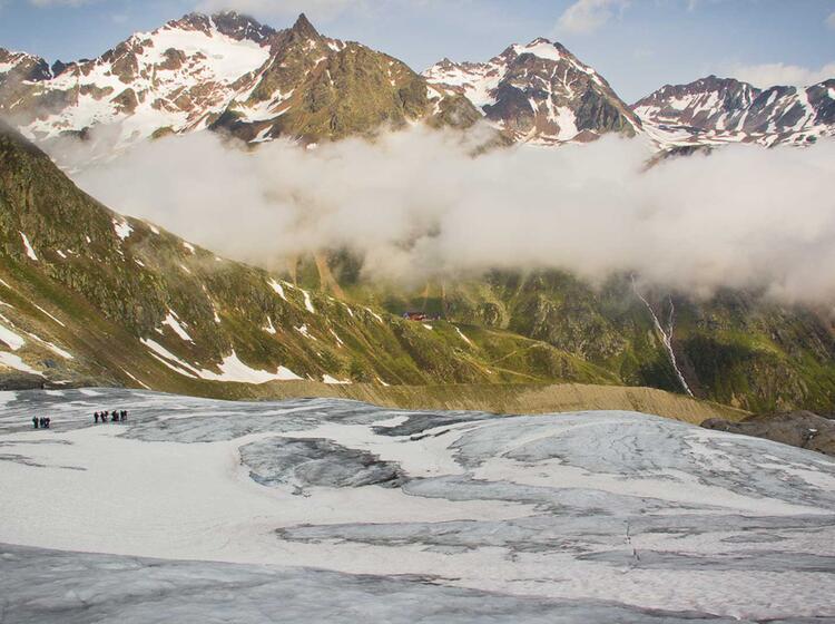Hochtourenkurse Am Taschach Gletscher