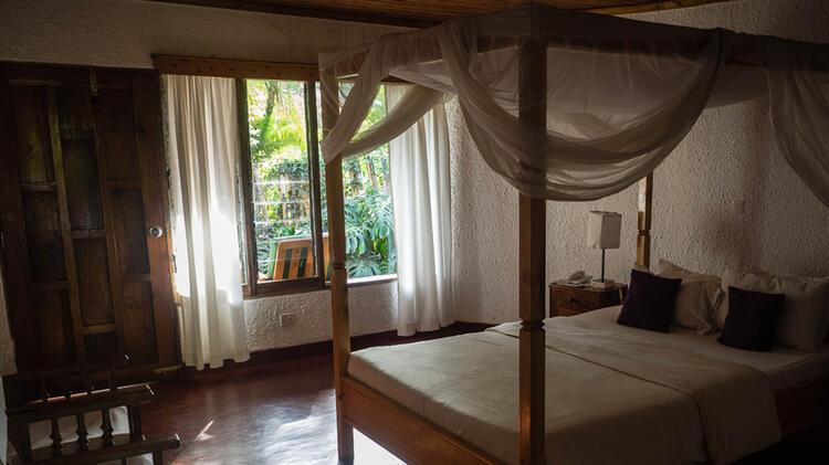 Hochwertige Unterkunft Auf Der Trekkingreise Zum Kilimandscharo