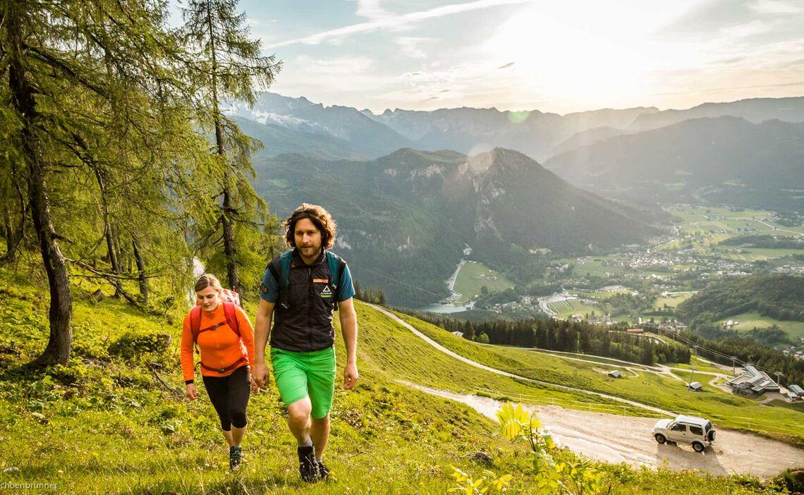 Im Zustieg Zum Jenner Klettersteig Laxersteig