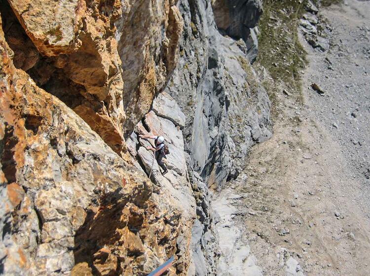 Kletterkurs Alpin Am Gardasee