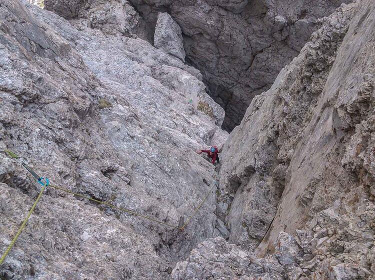 Klettern Am Gardasee Am Kletterkurs Alpin