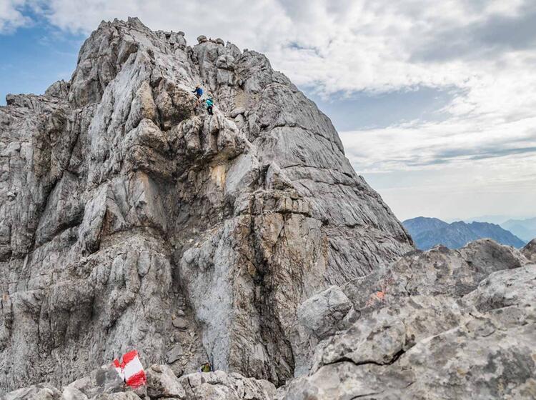 Klettern Auf Der Watzmann Ueberschreitung