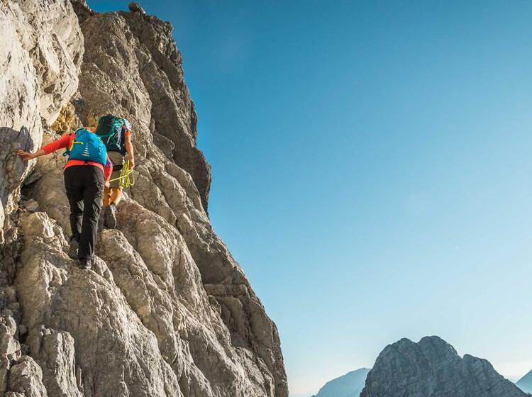 Klettern In Der Watzmann Ostwand Wiederroute