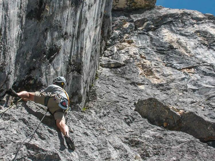 Klettern Mit Bergfuehrer