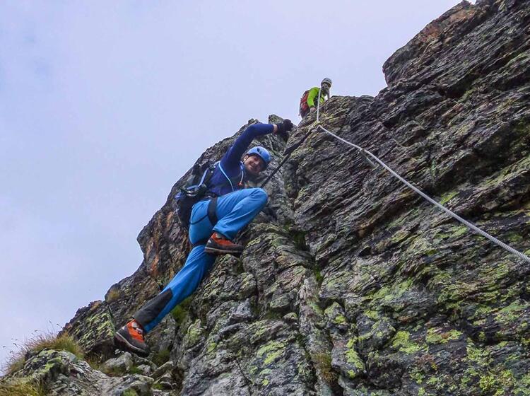 Klettersteig Am Pfannknecht In Der Silvretta Hochtourenwoche