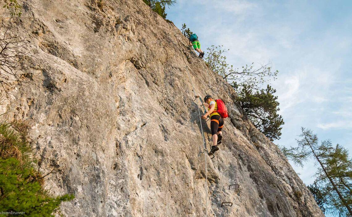 Klettersteig Gehen Lernen Am Jenner In Berchtesgaden