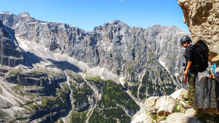 Klettersteig Gehen Lernen Auf Den Klettersteigkursen 1