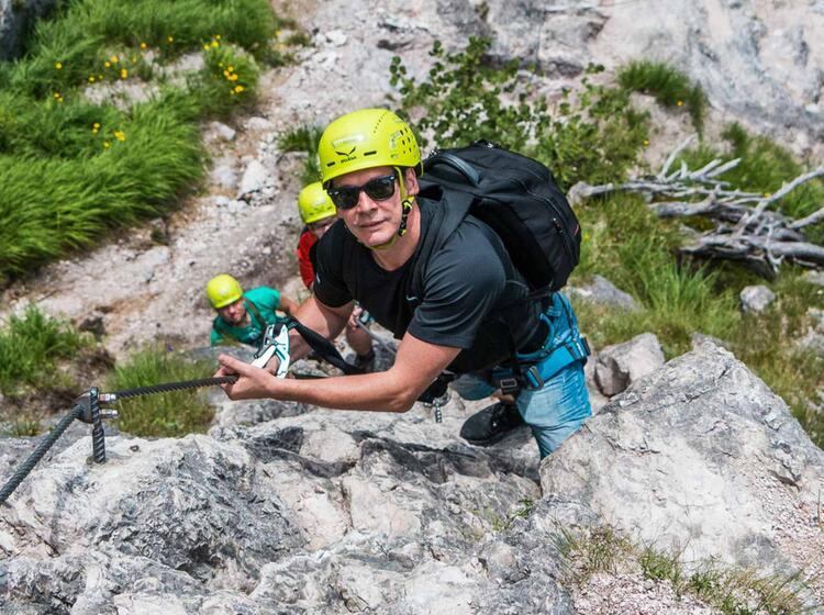 Klettersteig Gehen Lernen