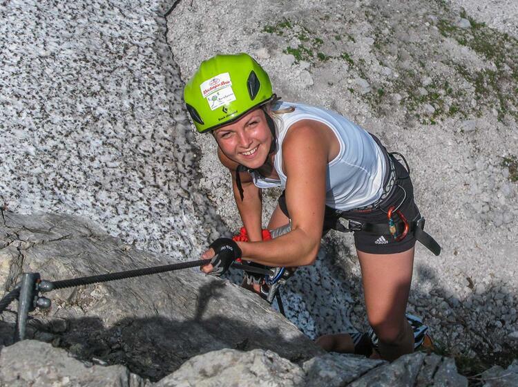 Klettersteig In Der Naehe Von Salzburg Am Staufen Pidinger Klettersteig