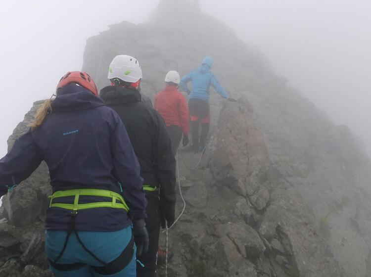 Klettersteig In Der Silvretta Am Pfannknecht