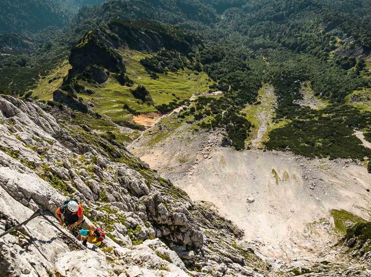 Klettersteig In Salburg Am Untersberg