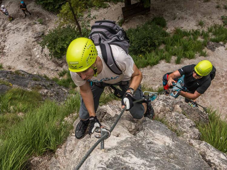 Klettersteig Kurs In Berchtesgaden Fuer Neulinge