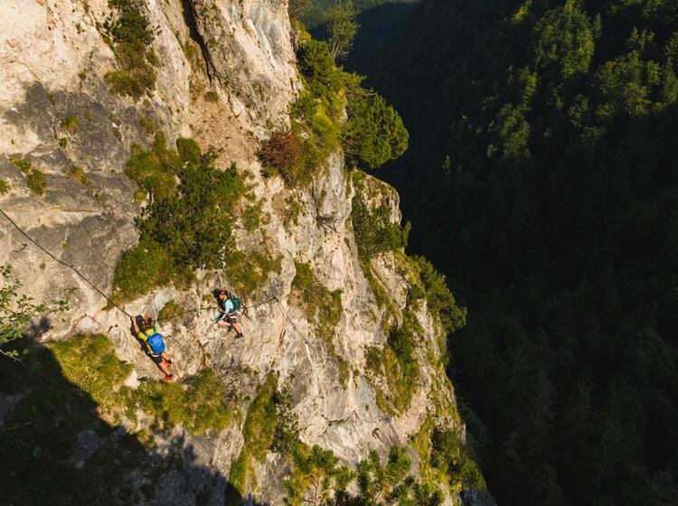 Klettersteig Kurs Und Fuehrung Mit Bergfuehrer Der Bersteigerschule Watzmann