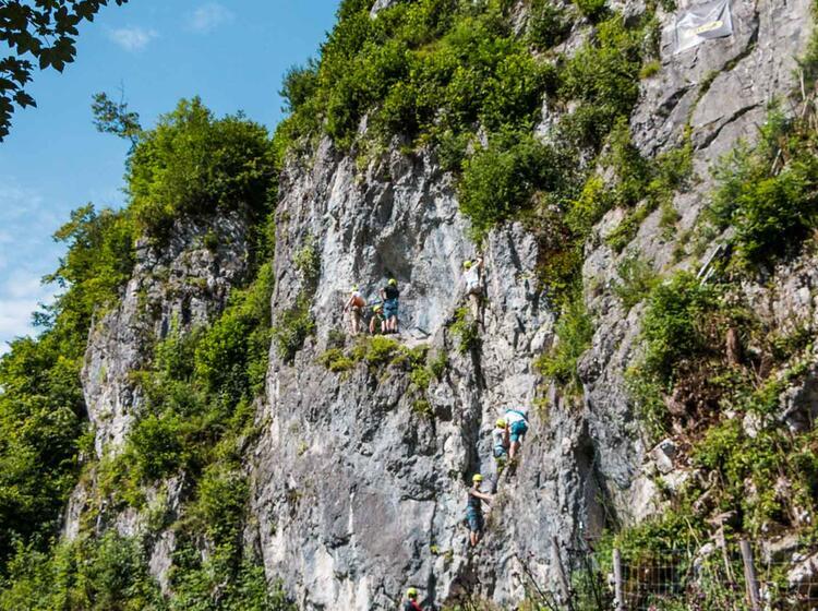 Klettersteig Kurse Fuer Beginner