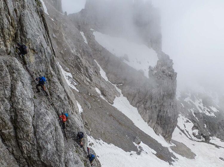 Klettersteig Mit Der Alpinschule In Der Brenta
