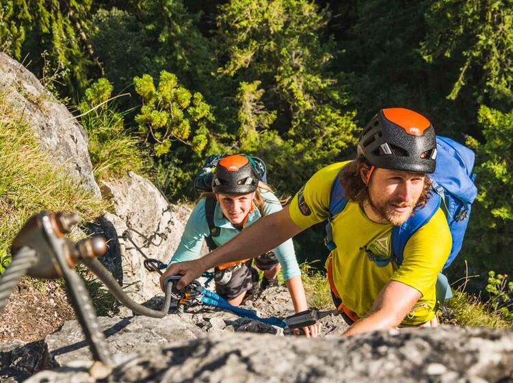 Klettersteig Tageskurs Fuer Einsteiger