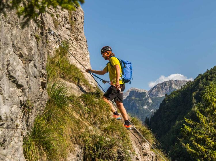 Klettersteig Tagestour Berchtesgaden