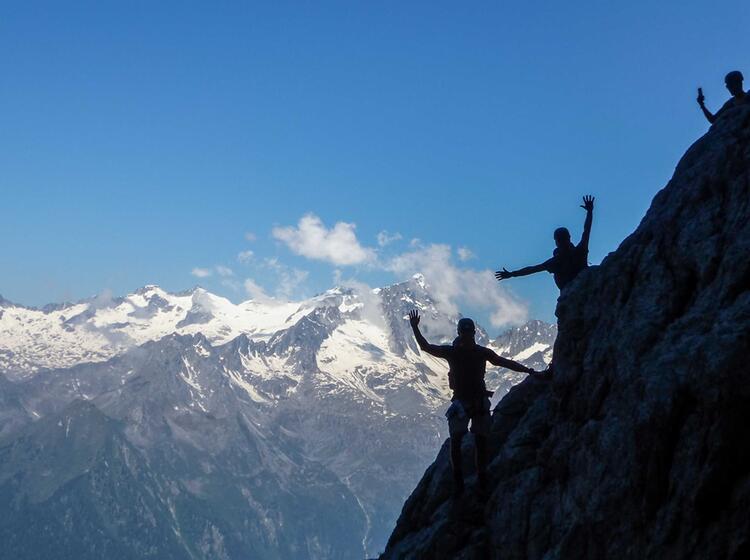 Klettersteig Woche Mit Bergfuehrer Sentiero Delle Bocchette Alte In Der Brenta