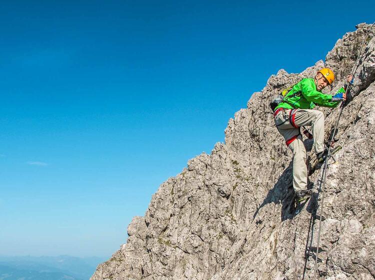 Klettersteige Am Klettersteigkurs Gardasee