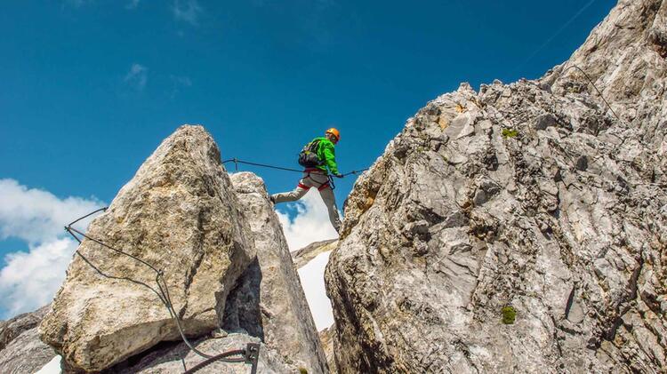 Klettersteigfuehrung Koenigsjodler Salzburger Land