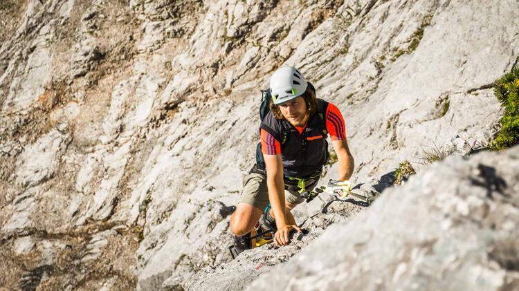 Klettersteigfuehrung Untersberg