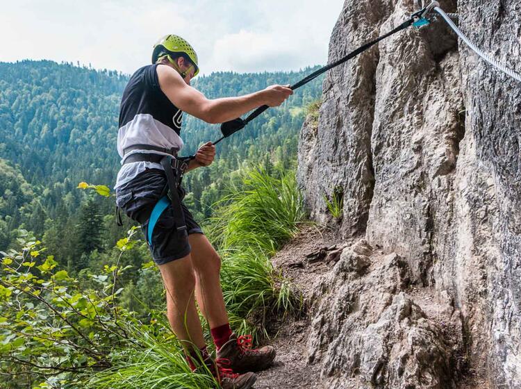 Klettersteigkurs Am Gruenstein In Berchtesgaden