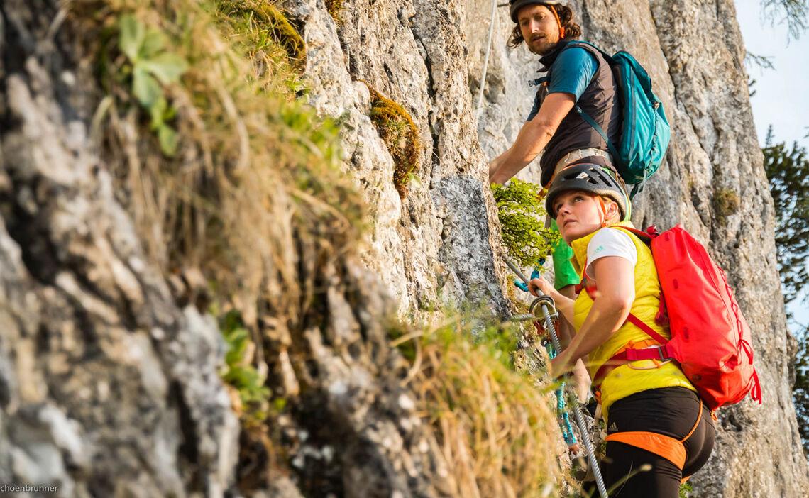 Klettersteigkurs Berchtesgaden Jenner