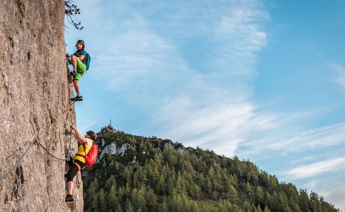 Klettersteigkurs Jenner Mit Bergfuehrer