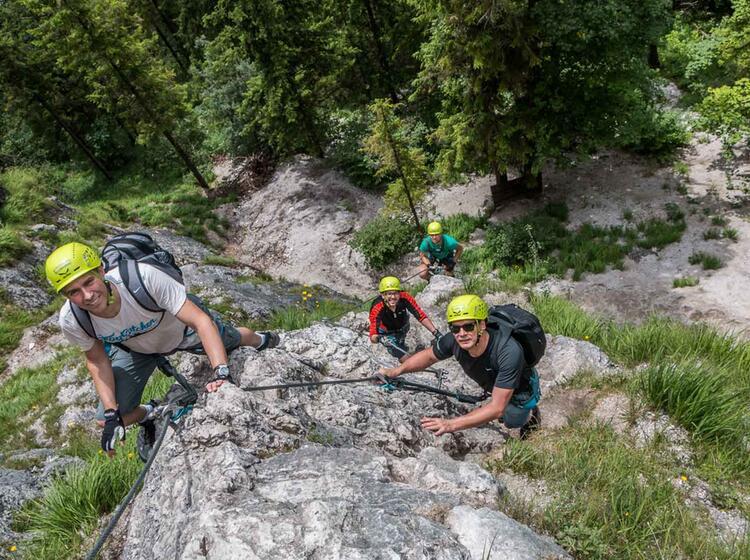 Klettersteigkurse Fuer Einsteiger