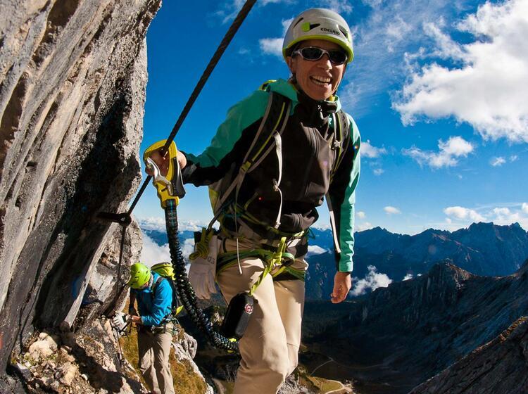 Klettersteigkurse Mit Bergfuehrer