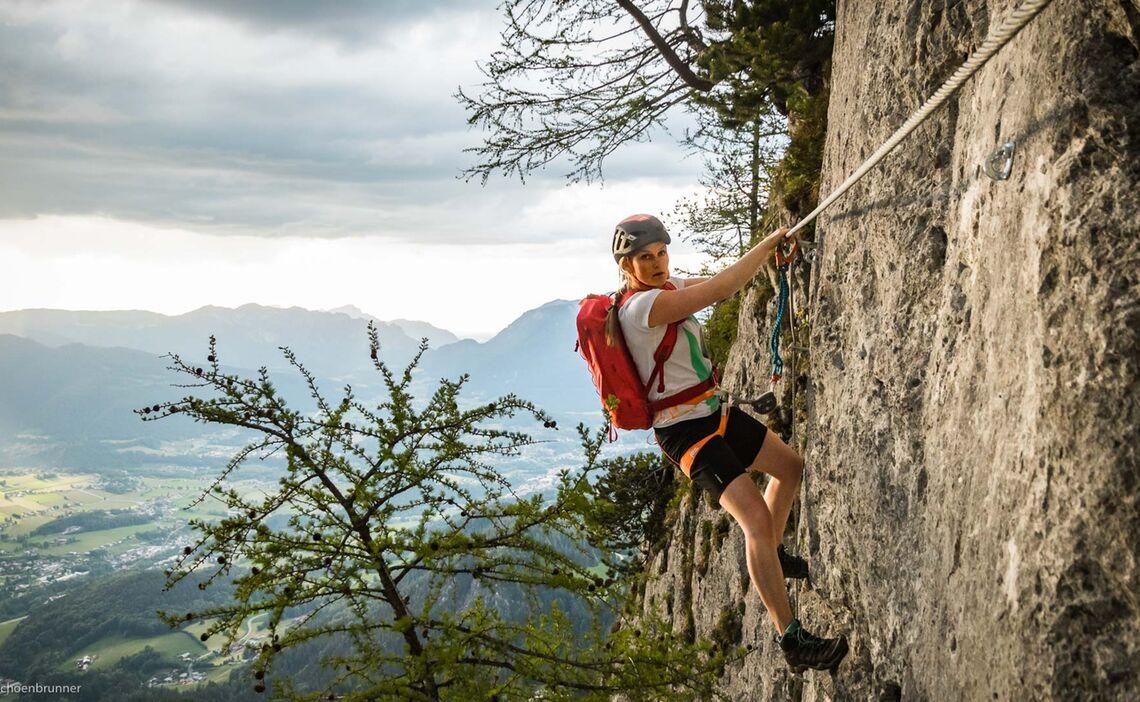 Kombination Klettersteig Laxersteig Und Schuetzensteig Am Jenner