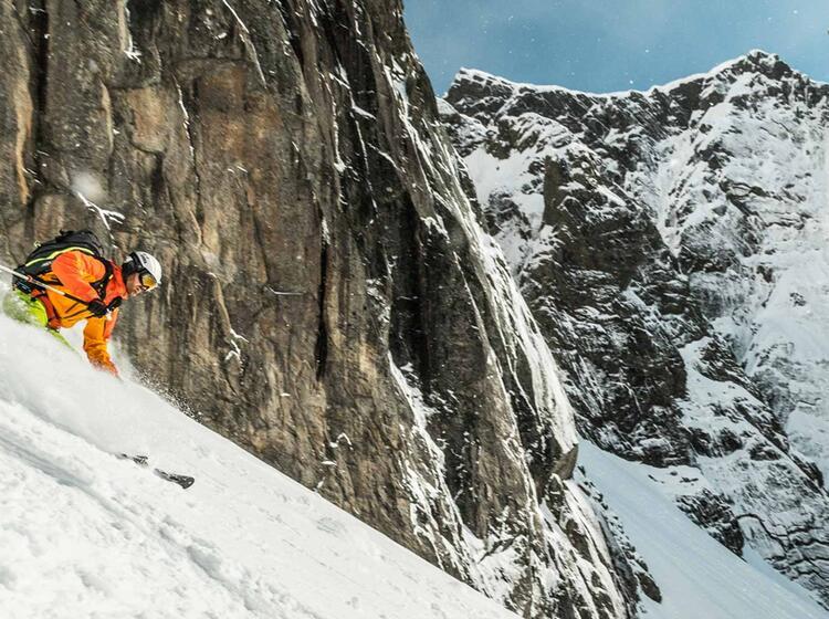 Lofoten Skitouren Mit Bergfu Hrer