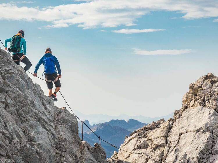 Mit Berchtesgadener Bergfuehrer Auf Der Watzmann Ueberschreitung