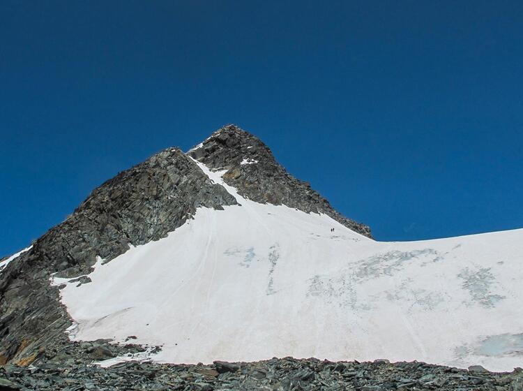 Mit Bergfuehrer Auf Den Grossglockner
