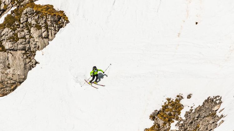 Mit Bergfuehrer Benedikt Auf Der Grossen Reibe In Berchtesgaden