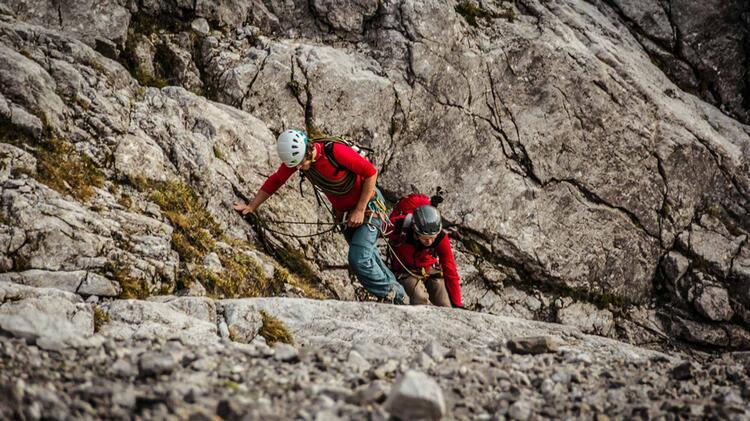 Mit Bergfuehrer Durch Die Watzmann Ostwand