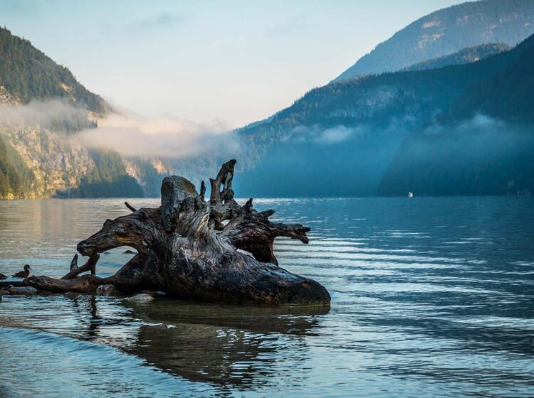 Mit Dem Boot Zum Wandern Am Koenigssee