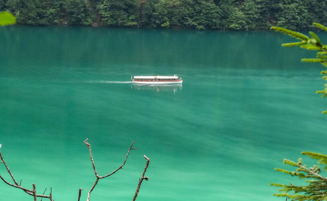 Mit Dem Schiff Zum Wandern Am Koenigssee