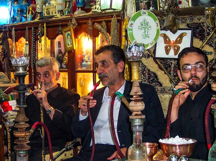 Orientalische Gebraeuche Auf Der Wanderreise In Den Iran