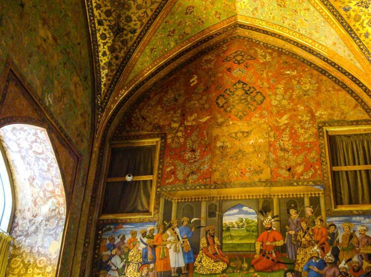 Orientalische Kultur Beim Trekking Im Iran