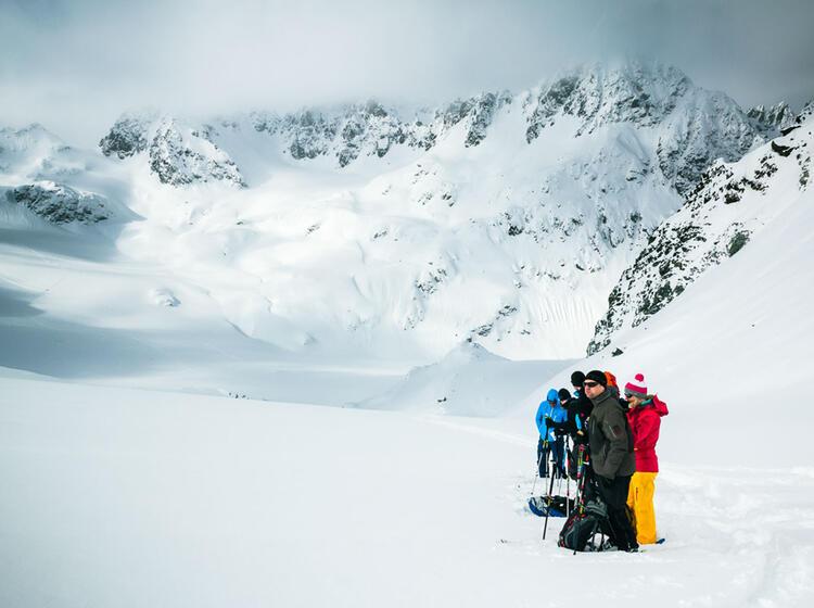 Orientierung Auf Der Skitourenwoche