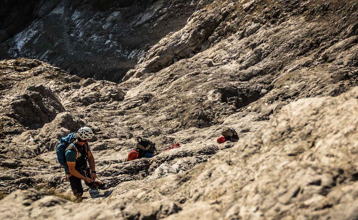 Ortskundige Bergfuerer Fuer Die Watzmann Ostwand