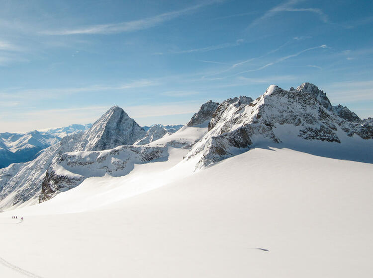Piz Buin Dreilaenderspitze Mit Schneeschuhen Und Auf Skitour 1