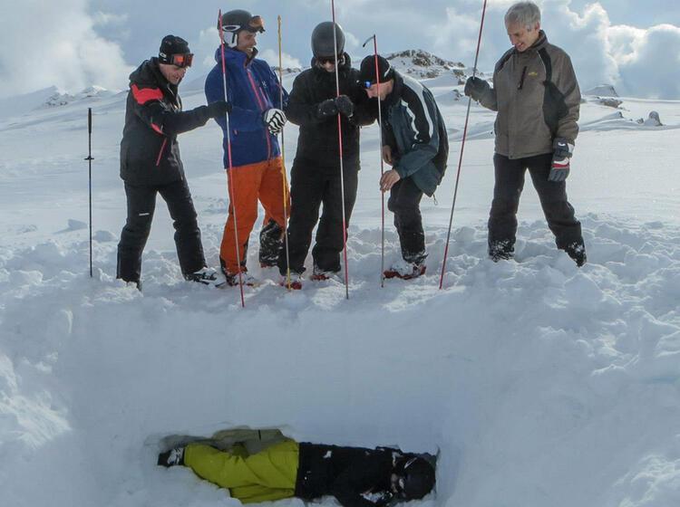 Richtig Sonderen Lernen Am Skitourenkursjpg