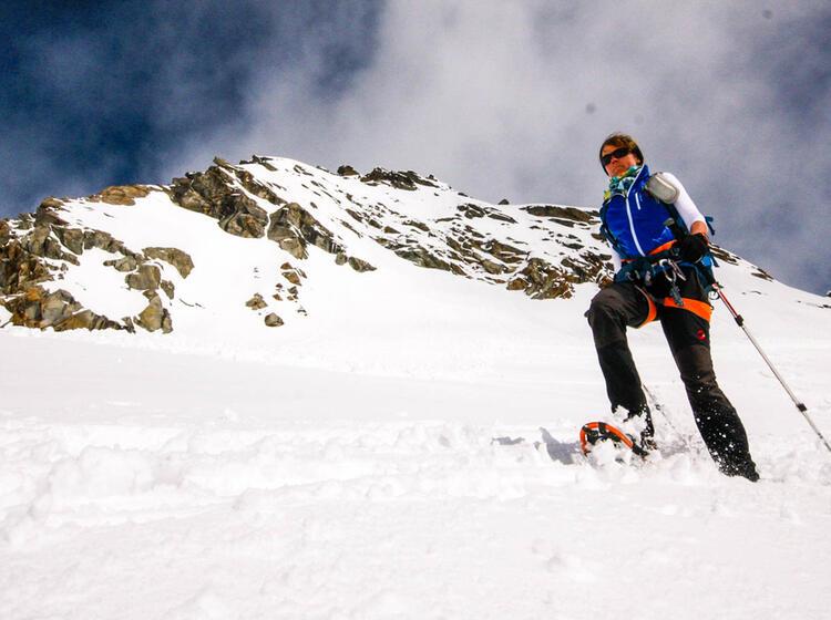 Schneeschuhtour Am Gletscher