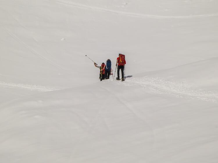 Schneeschuhtouren Rund Um Die Zufallhu Tte