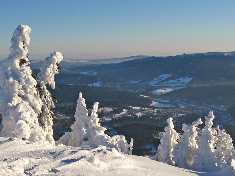 Schneeschuhwandern Bayrischer Wald Grossen Ko Tztinger Hu Tte